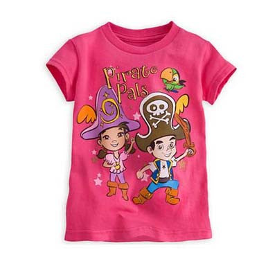 Jake and the Neverland Pirates for Girls tee