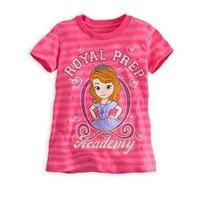 Sofia the First Royal Prep striped tee