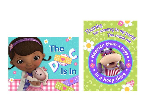 Doc Mcstuffins Invitations (8 ct)