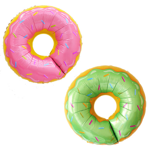 Giant Doughnut Foil Balloon (click for more colors)