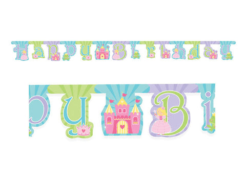 Fairytale Princess Birthday Jointed Banner