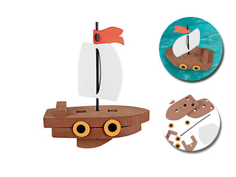 Floating Ship Craft Kit (4 ct)