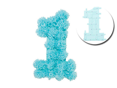1st Birthday Tissue Wall Decoration (click for more colors)