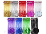 Metallic Foil Curtain - 8.2 feet (click for more colors)