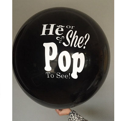 Giant Gender Reveal Latex Balloon (click for options)