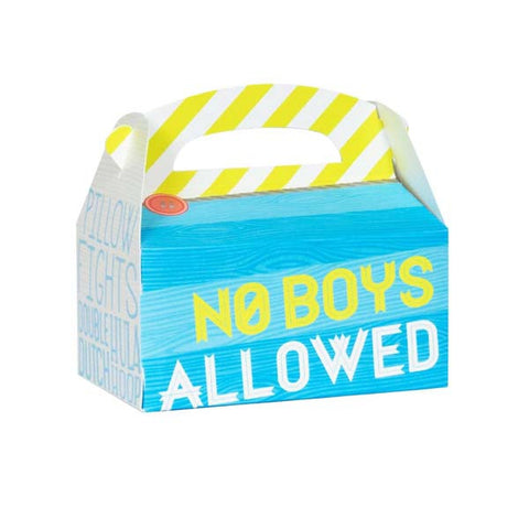 Girls Only Favor Box (8 ct)