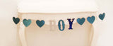 Glitter Baby Shower Garland - Boy or Girl (click for more colors)