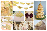 Gold Paper Doilies  (click for available sizes)