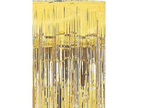 Metallic Foil Curtain - 3.3 feet (click for more colors)