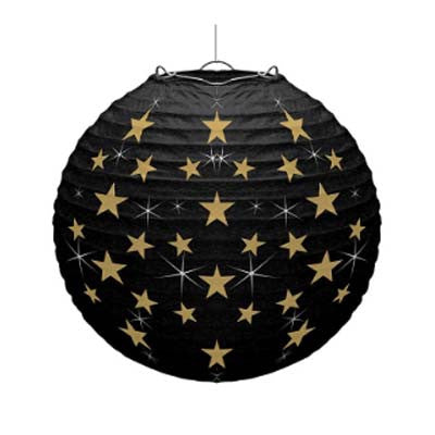 Printed Round Paper Lantern - 14 inches (click for more colors)