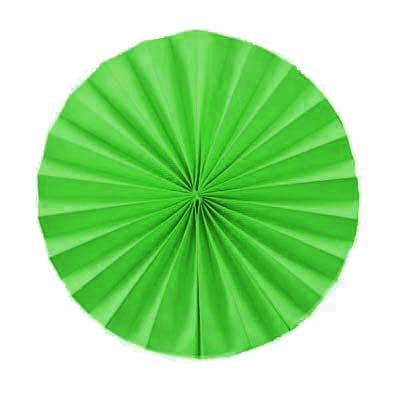 Solid Paper Fan - 12 inches (click for more colors)