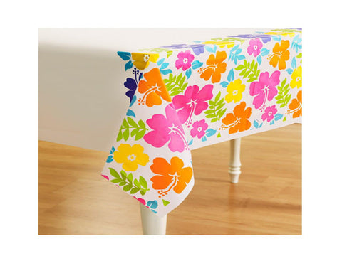Luau Hibiscus Table Cover