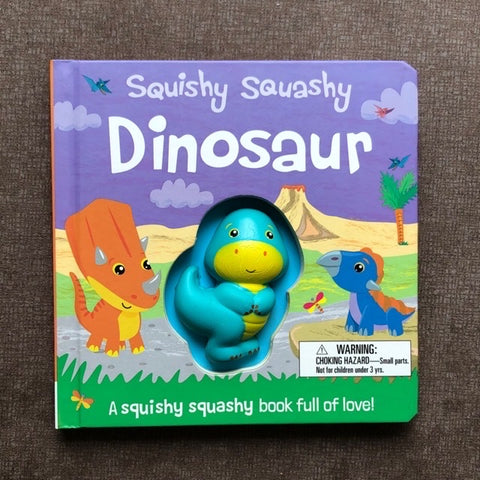 Squishy Squashy Book (Dino)