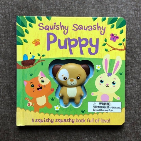 Squishy Squashy Book (Puppy)