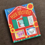 Farm Peek and Find Book