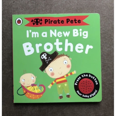 Pirate Pete I'm a Big Brother book