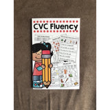 CVC Fluency pocket workbook