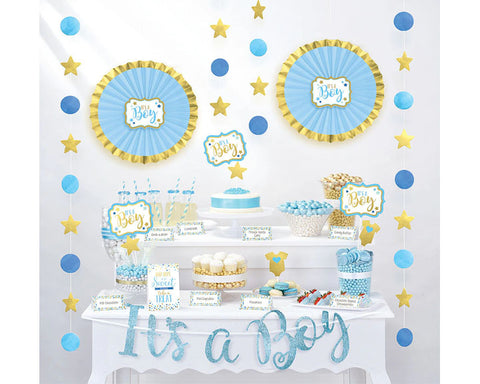 Baby Shower Buffet Table Decorating Kit (click for colors)