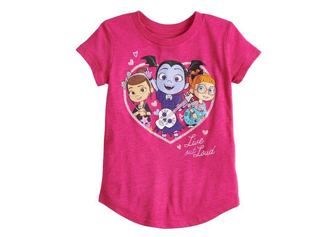 "Vampirina ""Live Out Loud"" Graphic Tee"