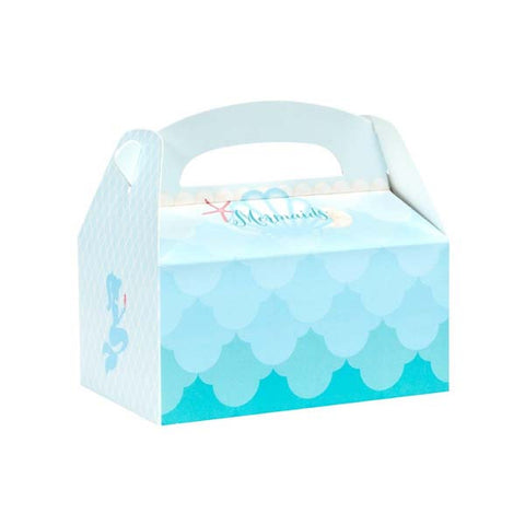 Mermaids Party Favor Box (4 ct)