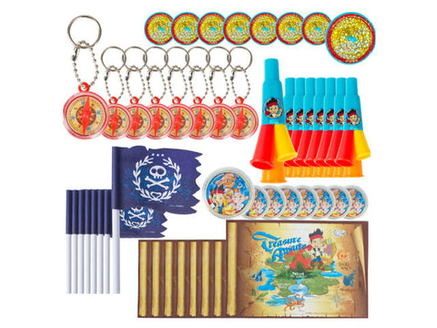 Jake and the Neverland Pirates Mega Mix Favor Pack (48 ct)