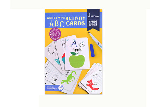 Write & Wipe Flash Cards - ABC