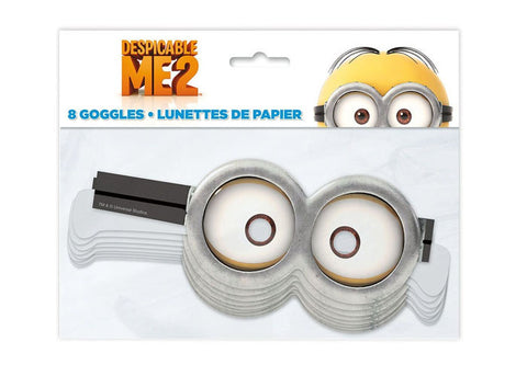 Despicable Me Minions Party Goggles