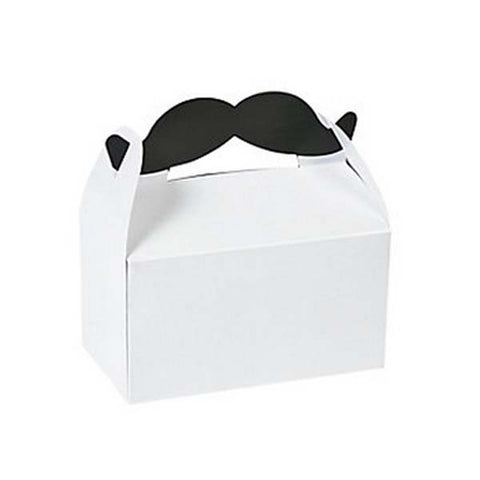 Mustache Favor Box (8 ct)