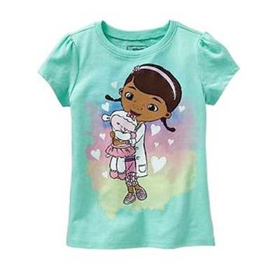 Mint Green Doc Mcstuffins tee