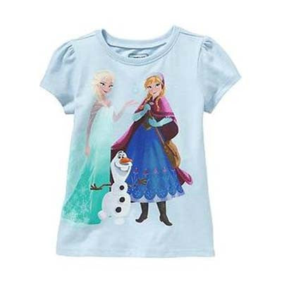 Light Blue Disney's Frozen tee