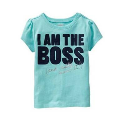I am the Boss tee