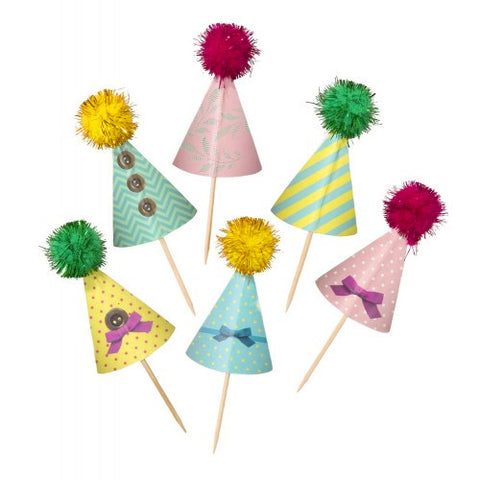 Party Hats picks (10 ct)