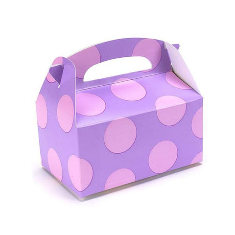 Pink Polka Dots Favor Box (8 ct)
