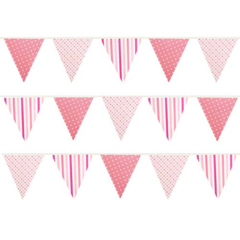 Pretty in Pink Buntings