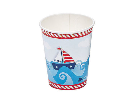 Sailor Paper Cups (8 ct)