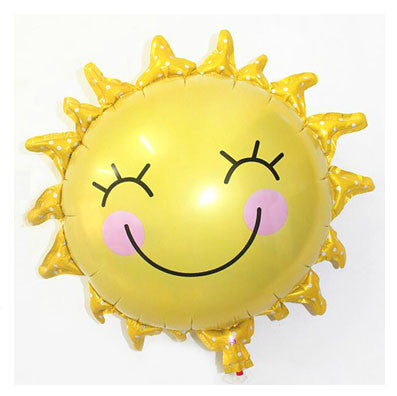 Smiley Sun Foil Balloon