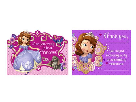 Sofia the First Invitations (8 ct)