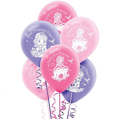 Sofia the First Latex Balloons