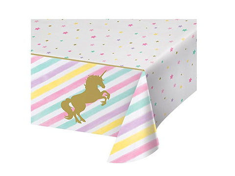 Sparkle Unicorn Table Cover