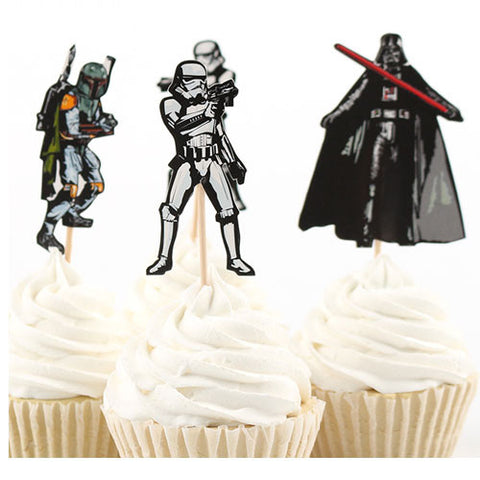 Star Wars cupcake picks (12 ct)