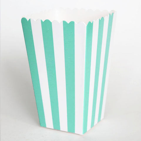 Stripes Mini Popcorn Boxes (click for more colors)