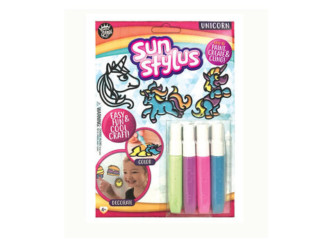Sun Stylus Window Cling Kit - Unicorn