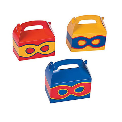 Superhero Party Favor Box (6 ct)
