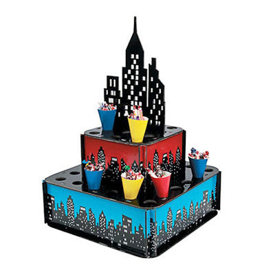 Superhero Treat Stand