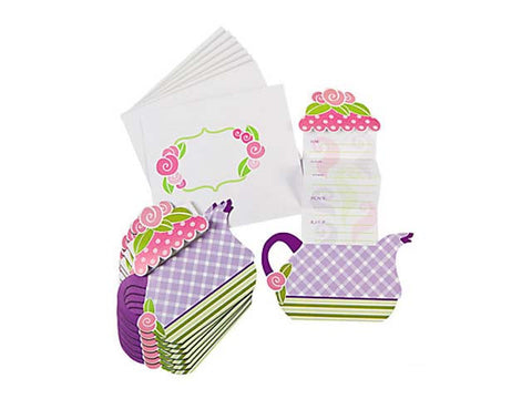 Tea Party Invitations (8 ct)