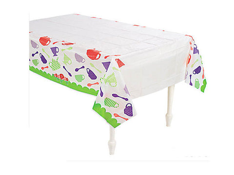 Garden Tea Party Table Cover