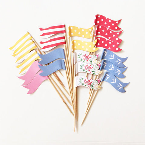 Tea Party cupcake picks (20 ct)