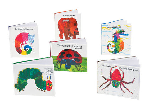 Eric Carle's The Very Hungry Caterpillar Mini Hardcover Notebooks (6 ct)