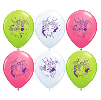 Tinkerbell Latex Balloons