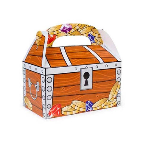 Treasure Chest Favor Box (8 ct)
